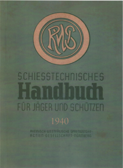 RWS SCHIESSTECHNISCHES HANDBUCH