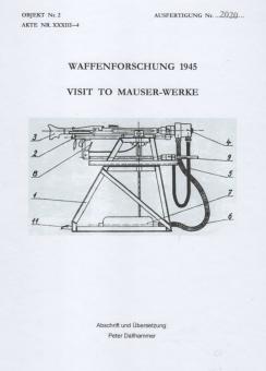 WAFFENFORSCHUNG 1945